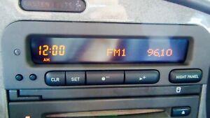 00 01 02 03 SAAB 9-3 SID2 SID 2 SYSTEM INFORMATION DISPLAY CLOCK NO DEAD PIXELS