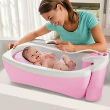 Summer Infant Lil Luxuries Whirlpool Bubbling Spa And Shower Bath Tub Pink Baby
