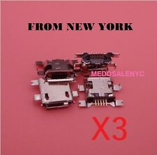 3 X Asus Google Nexus 7 1st / 2nd Gen USB Charging Port Dock Connector from NyC