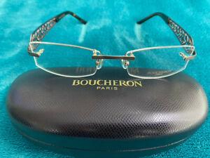Genuine Boucheron BEO 152 02 glasses frames