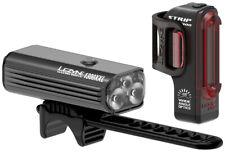 Lezyne Macro 1300xxl & Strip Pro 300 Drive Pair Bike Light Set