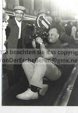 Ted kornowicz-TV cameraman-VINTAGE FOTO ORIGINALE: Ingo Barth