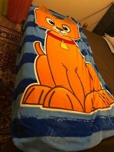Kids Puppy Zippy Sack Twin Size Fleece Zip Up Blanket