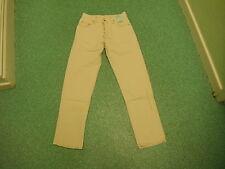 "Vintage 50 Year Wash Pepe Classic Fit Jeans W30"" L32"" Light Beige Mens Jeans"