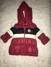 D & G DOLCE & GABBANA Junior baby Down Jacket Red,Navy ,White 9-12 MONTHS NEW