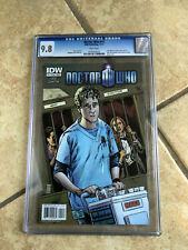 DOCTOR WHO #11 cgc 9.8 11th Doctor ONGOING IDW from 2011 with AMY & RORY