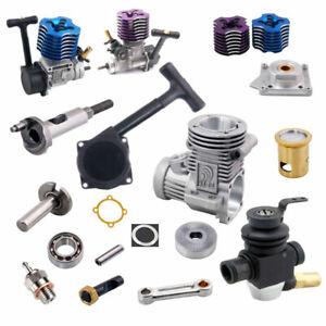 R/C HSP02060 VX 18CXP 2.74cc Nitro Engine Golw Plug Pull Start Carburetor Body