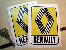 RENAULT 72 sur logo adhésif Autocollant voiture classique 125 x 90 5 Turbo 8 6 15