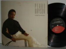PEABO BRYSON Straight From The Heart LP Slow Dancin' I Get Nervous Real Deal
