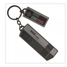 RETRO Nintendo NES Console KeyChain (Metal) Officially Licensed Gaming Accessory