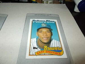 "1988 Topps Future Star GARY SHEFFIELD "" FREE SHIPPING IN USA """