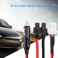 1.5m 30A 4Pin Short Wave Car Charger Power Cable for ICOM IC-7000 IC-7600 FT-450