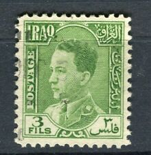 IRAQ; 1934 early King Ghazi issue fine used 3fl. value