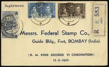 Handstamped British Colony First Day Cover Stamps