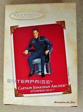 NEW Hallmark Ornament 2003 Captain Jonathan Archer Star Trek Enterprise NX-01