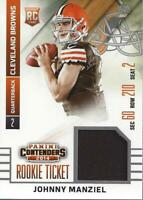 2014 Panini Contenders Rookie Ticket Jerseys #40B Johnny Manziel Jersey - NM-MT