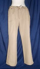 Ladies Beige Mole Casual Trousers Cargo cotton Mark & Spencer size 18