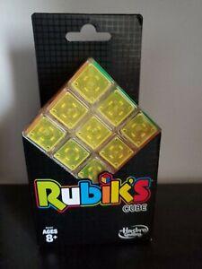Hasbro Rubik's Cube Puzzle Neon Pop Series NEW IN PACKAGE