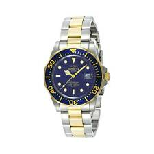 INVICTA PRO DIVER MEN'S 40MM GOLD PLATED STAINLESS STEEL CASE QUARTZ WATCH 9310