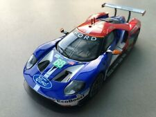 """Carrera Digital 132 30771 Ford GT Race Car """"No. 68"""" Karosse+Chassis LICHT"""
