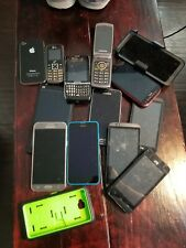 11 Phones Random Working and Non Working cell phones for parts or repair