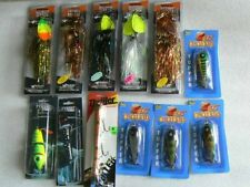 New Listing12 Bucher, Cisco Kid, Tyrant ,Suick Fishing Lures New in Box