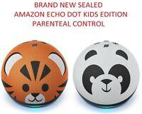 Amazon Echo Dot (4th Gen) Kids Edition with parental control Panda or Tiger