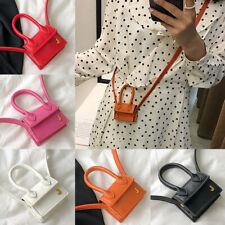 New 1PC Women Girls Mini Bag PU Coin Purse Crossbody Bag Elegant Decor