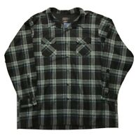 New Pendleton Mens Blue Black Plaid Original Board Shirt Sz 5XL TALL 5X