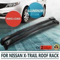 2x NEW CROSS BAR ROOF RACK For NISSAN X TRAIL 2007-2014 T31 X-TRAIL XTRAIL