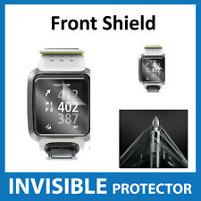 TomTom Golfer GPS Watch Screen Protector INVISIBLE FRONT Shield Military Grade
