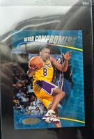 1998 TOPPS NEVER COMPROMISE #1 KOBE BRYANT LARGER JUMBO SAMPLE PROMO LAKERS