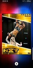 Topps WWE Slam Digital Card Tegan Nox Gold nxt collection 2020