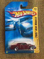 Hot Wheels 2007 New Models ~ Buick Grand National ~ Burgundy Variant
