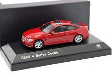 VOITURE BMW SERIES 4 COUPE ROUGE ISCALE 1/43  ETAT NEUF EN BOITE