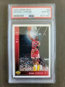 1993 Upper Deck Michael Jordan #23 Psa 10