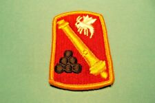 Military 113th Field Artillery Brigade Patch Full Color Insignia Unit USArmy#714