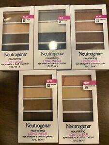 Neutrogena Nourishing Long Wear Eye Shadow + Built-In Primer Multiple Colors