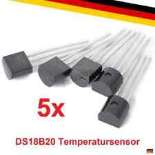 5x DS18B20 Digitaler Temperaturfühler Temperatursensor 1-wire Raspberry Arduino