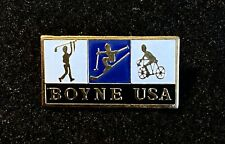 BOYNE MOUNTAIN Skiing Ski Golf Pin Badge MICHIGAN Resort Souvenir Travel Lapel