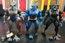 Marvel legends beast lot retro AOA caliban baf wave xmen wolverine rogue Phoenix