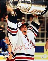 Mike Richter autographed signed 16x20 photo NHL New York Rangers PSA COA