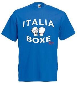 T-shirt Maglietta J1095 Italia Boxe Rio 2016 Olimpiadi Pugilato
