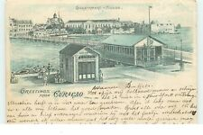 Greetings from CURACAO - Government House - 1899 - Gruss - 21413
