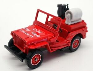 Solido 1/43 Scale Diecast Solido 2117 - 1944 Willy's Jeep fire Engine
