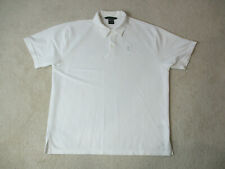Nike Tennis Polo Shirt Adult Extra Large White Challenge Court Sphere Mens *