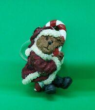 Boyds Bears Christmas Ornament Santa Claus Bear