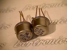 MM4001  transistor  Mot  metal can  collectible vintage with golden leads