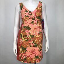 b223b603b454f Tracy Feith Target Womens 5 Dress Floral Hibiscus Hawaiian Vacation Beach