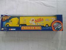 Winner's Circle NASCAR Dale Earnhardt, Jr. Nilla Wafers Yellow Trailer Rig MIB
